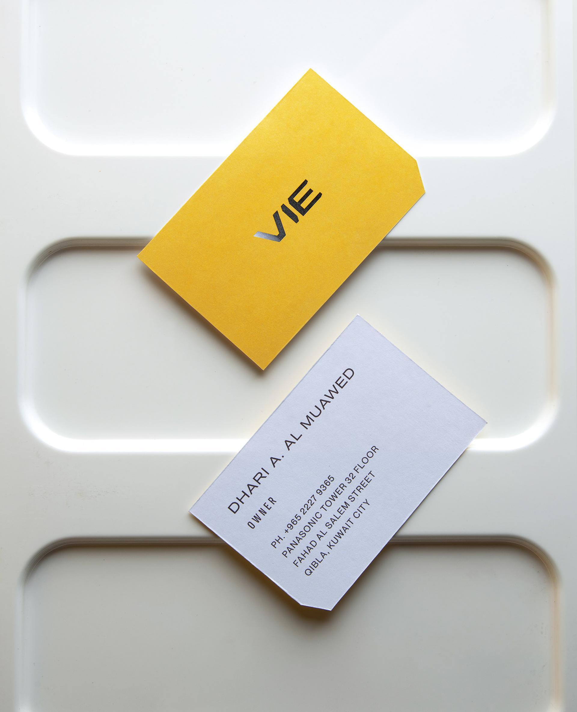 VIE Visiting Print Card